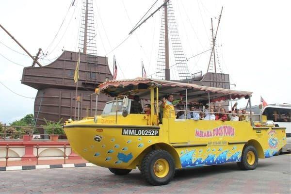 Melaka Duck Tours