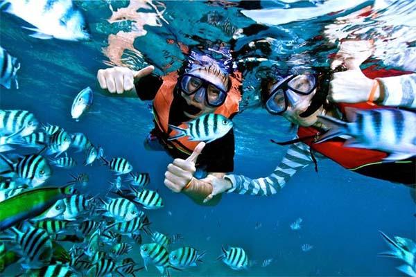Mantanani island snorkeling 2
